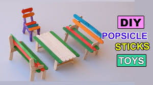 How To Make Swing Bed by Diy Popsicle Sticks Toys How To Make Furniture Backyard Crafts