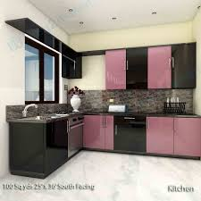 2 Bhk Home Design Ideas by 120 Sq Ft Kitchen Design For Square Room Large Islands With