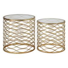 uttermost accent tables jim parsons zoa accent tables set of 2 by uttermost low priced