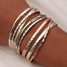 cuff metal bracelet images Handcrafted thin cuff bracelets and thick cuff bracelets from jpg