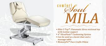 comfort soul massage table day spa equipment medical spa furniture machines massage bed