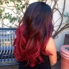 Frisuren Lange Haare Mit Farbe by Bordeaux Rot Ist Die Farbe Für Den Herbst Schauen Sie Sich Diese