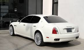 maserati white sedan 2008 maserati quattroporte executive gt automatic stock 5954 for