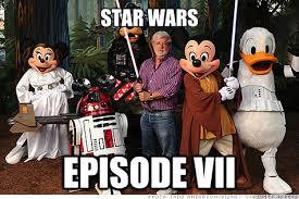 Star Wars Disney Meme - star wars episode vii disney star wars quickmeme