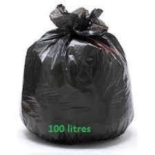 poubelle cuisine 100 litres sac poubelle bd noir 100 litres superlene 45 mic de 200