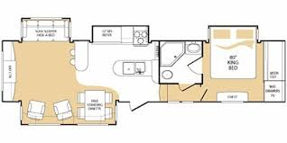 everest rv floor plans 2009 keystone everest 345s trailer reviews prices and specs