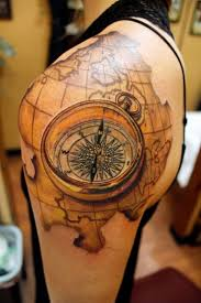 Compass Map 298 Best Custom Tattoos By Sean Ambrose Images On Pinterest Sean