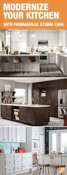 home depot kitchen cabinets brands modernize even the most dated spaces with thomasville studio