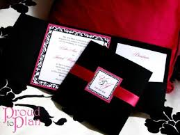 Black Wedding Invitations Indian Wedding Songs Pink Black Wedding Invitations