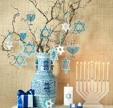 decorations for hanukkah thanksgivukkah and the menorah the room