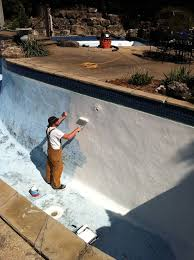 what is the best way to paint a swimming pool quora