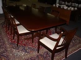 ebert furniture company mahogany duncan phyfe dining room table