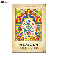 Mexican Home Decor by Compare Prices On Mexican Canvas Paintings Online Shopping Buy