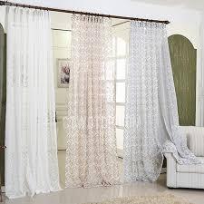 sheer geometric curtains decorating mellanie design