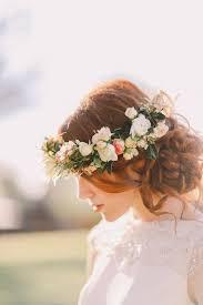 flower hair bun the 30 best wedding bun hairstyles everafterguide