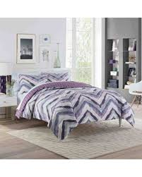 Plum Bed Set Deals On Vue Baxter Reversible Xl Comforter Set In Plum