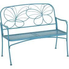 Butterfly Bench Mainstays Butterfly Outdoor Patio Bench Walmart Com