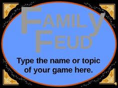 Family Feud Name Tag Template Family Feud Creator Classroom Tech Websites