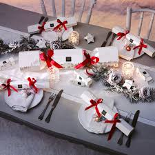 Christmas Cracker Table Decoration by Table Christmas Cracker