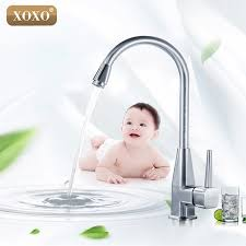 how to open kitchen faucet xoxo single open kitchen faucet zinc alloy cold heat sink sink