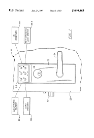 patent us5640863 clutch mechanism for door lock system google