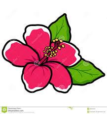 style flower hawaiian hibiscus flower stock vector illustration of vector 56995542