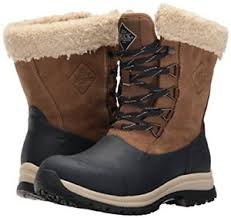 s muck boots australia muck boot s arctic lace mid otter navy fog brown fur lined