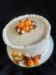 pink cake thanksgiving theme cake