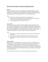 Creating A Professional Resume Create A Resume Cover Letter How To Write A Professional Cover