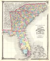 Enlarged Map Of The United States by Atlas Of The United States County Map Of North Carolina South