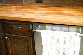 how to make butcher block countertops kitchen wood outdoor kitchen