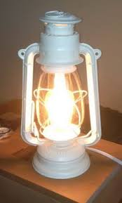 Diy Lantern Lights Electrifying An Antique Or Kerosene L Kerosene L
