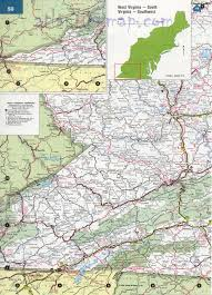 Southwest Usa Map by Southwest Virginia Highway Map