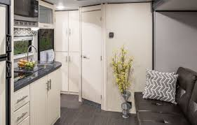 Trailer Kitchen Cabinets Camplite Cl16dbs Ultra Lightweight Travel Trailer Floorplan