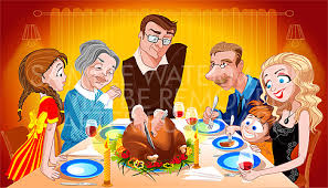 family thanksgiving clipart 48