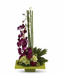 tropical flower arrangements zen artistry orchid flower arrangement fromyouflowers