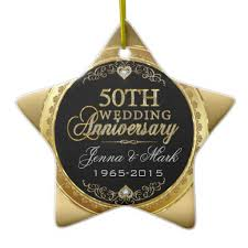 50th wedding anniversary ornaments 28 images black gold 50th