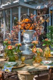 Garden Halloween Decorations Outdoor Fall Decorating Ideas Yard