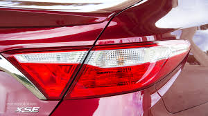 2015 toyota camry tail light 2015 toyota camry review autoevolution