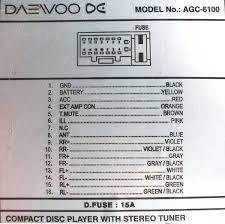 daewoo wiring diagram radio daewoo wiring diagrams instruction