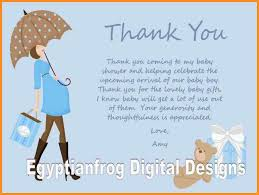 thank you messages for baby shower gifts home decorating