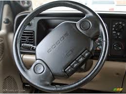 Dodge Ram 95 - 1995 dodge ram 2500 laramie extended cab tan steering wheel photo