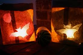 paper bag halloween luminaries moment to moment paper bag halloween lanterns