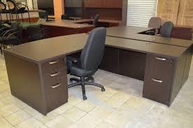 Espresso Computer Desk With Hutch by Espresso L Shape Desk Office Furniture Warehouse Home Office