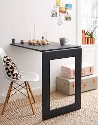 table cuisine murale rabattable table gain de place idaes pliantes galerie avec table murale