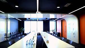youtube offices interior design in green horizon office building for infosys polska