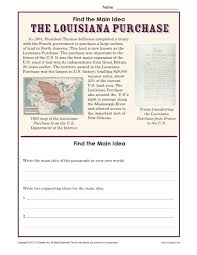 2nd grade main idea worksheets worksheets