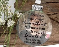 memorial ornaments etsy