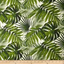 Palm Tree Upholstery Fabric Hopsack Natural Discount Designer Fabric Fabric Com