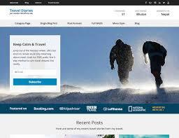Travel Theme 5 Free Wordpress Travel Themes 2017 Athemes